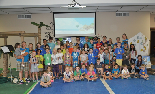 Vacation Bible School 2018 Group Photo